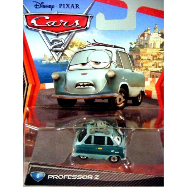 Disney Cars Series 2 - Professor Z - Zundapp - Global ...