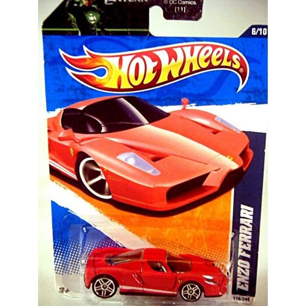 Hot Wheels Enzo Ferrari Supercar