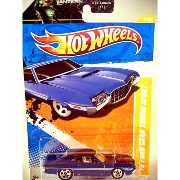 New Ford Torino >> Hot Wheels 1972 Ford Gran Torino Sport - Global Diecast Direct