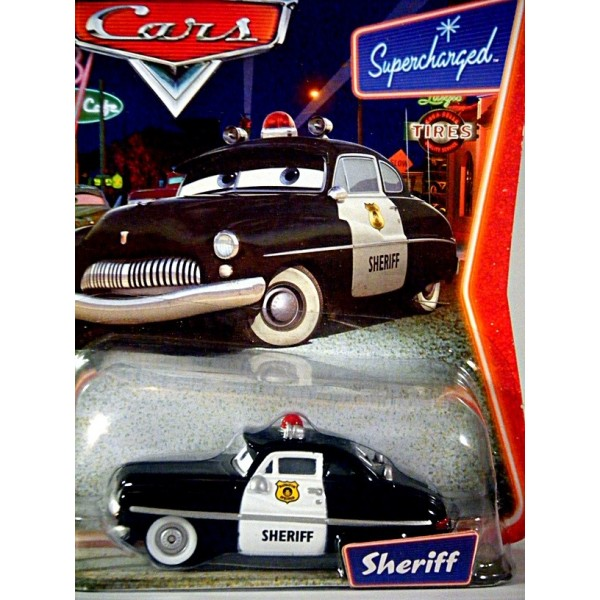 Disney Cars Series 1 Sheriff 1949 Mercury Club Coupe Police Car