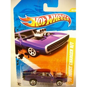 Hot Wheels 2011 New Models Series - 70 Dodge Charger R/T