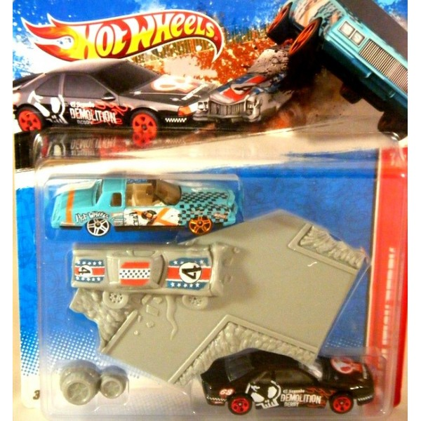 Hot Wheels Demolition Derby Racing Kit Chevrolet Monte