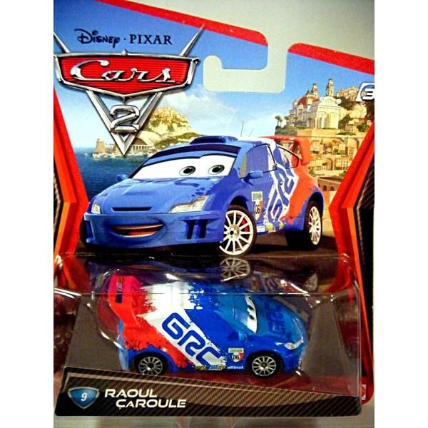 Disney Cars 2 Series Raoul Caroule Citroen C3 Wrc
