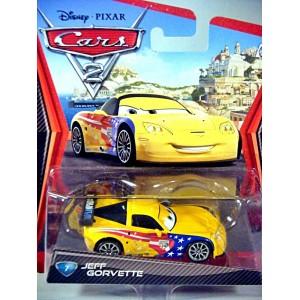 Disney Cars 2 Series Jeff Gorvette Chevrolet Corvette C6r Jeff