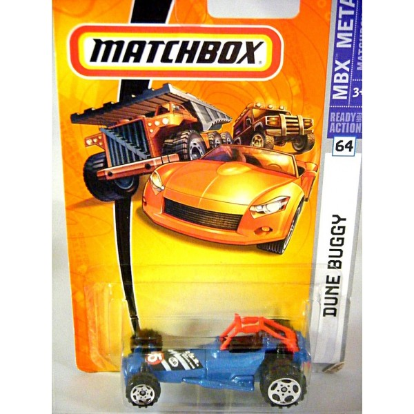 Matchbox Dune Buggy 4x4 Red Rollbar