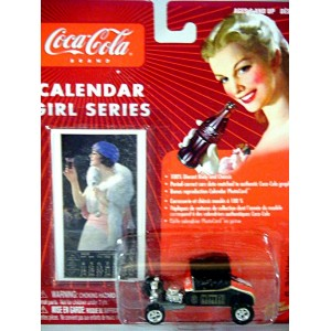 Johnny Lighting Coca-Cola Calendar Girls - 1927 Ford Roadster