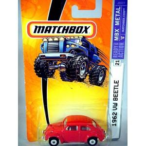 Matchbox 1962 Volkswagen Beetle (Disc Wheels)