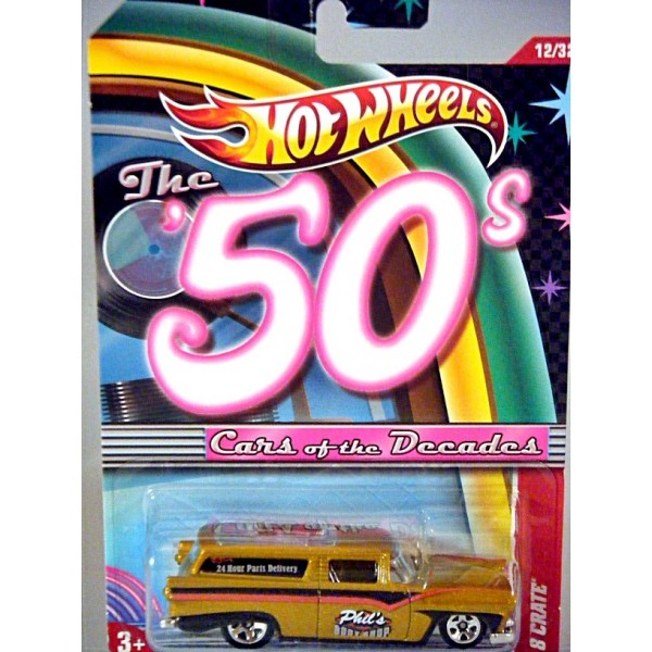 Hot Wheels Cars of the Decades - 8 Crate - 1955 Ford ...