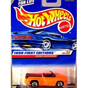 Hot Wheels 1998 First Editions - Dodge Sidewinder Pickup Truck