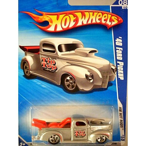 Chevrolet Truck Models >> Hot Wheels - 1940 Ford NHRA Pickup Truck - Global Diecast ...