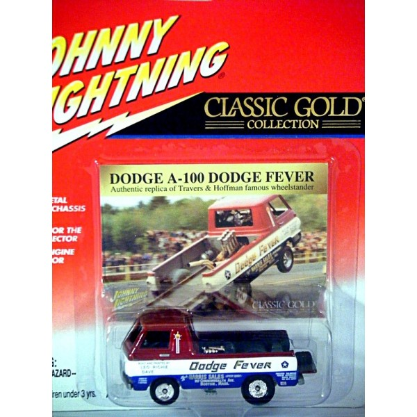 Johnny lightning classic gold dodge a 100 dodge fever nhra pickup johnny lightning classic gold dodge a 100 dodge fever nhra pickup truck publicscrutiny Choice Image