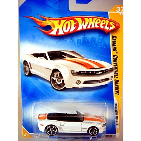 Bel Air Honda >> Hot Wheels 2008 First Edition Series - Chevrolet Camaro Convertible Concept - Global Diecast Direct