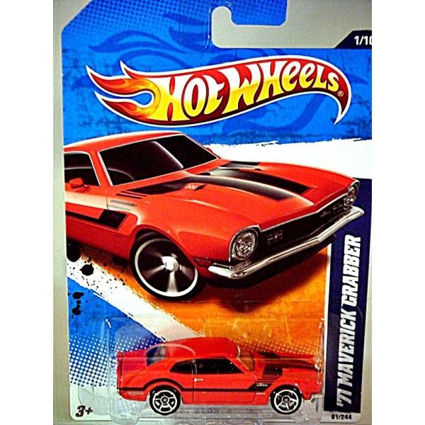Hot Wheels - Stunning 1971 Ford Maverick Grabber Muscle ...