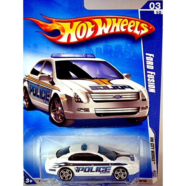 Hot Wheels - Ford Fusion Police Car - Global Diecast Direct