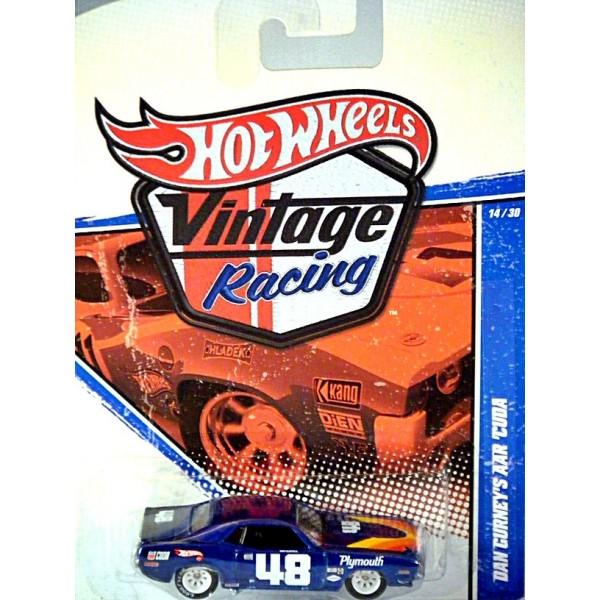 Hot Wheels Vintage Racing - Dan Gurney AAR Cuda - Global ...
