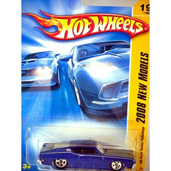 hot wheels 2008 new models series - 1969 ford torino talladega