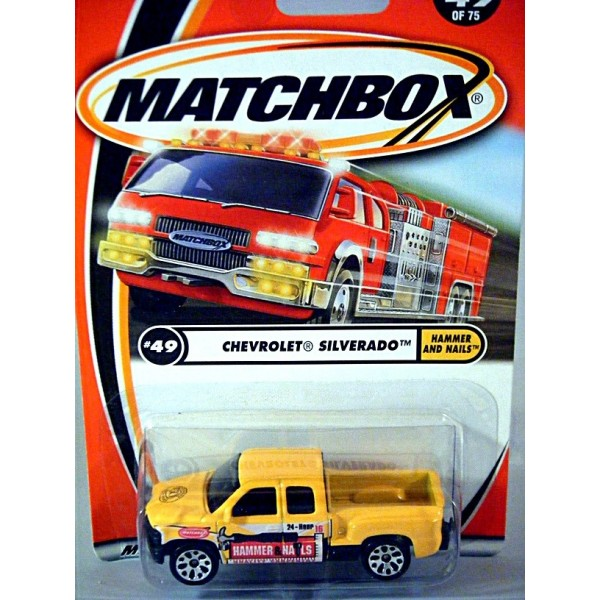 Matchbox - 50th Anniversary Logo Chase Car - Chevrolet ...
