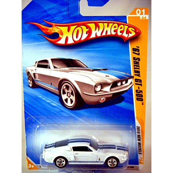 Hot Wheels 2010 New Models Series 1967 Ford Mustang