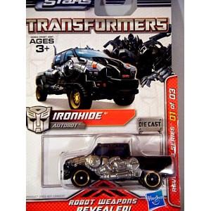 Hasbro Transformers Revealers Series Ironhide GMC Pickup Truck