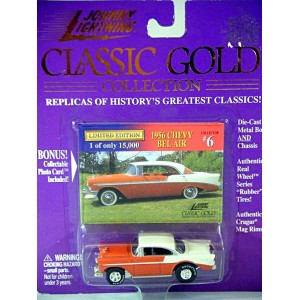 Johnny Lightning Classic Gold - 1956 Chevrolet Bel Air