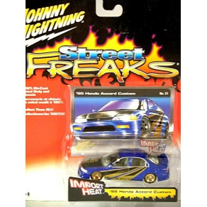 Johnny Lightning Street Freaks Import Heat - 95 Honda Acord Tuner