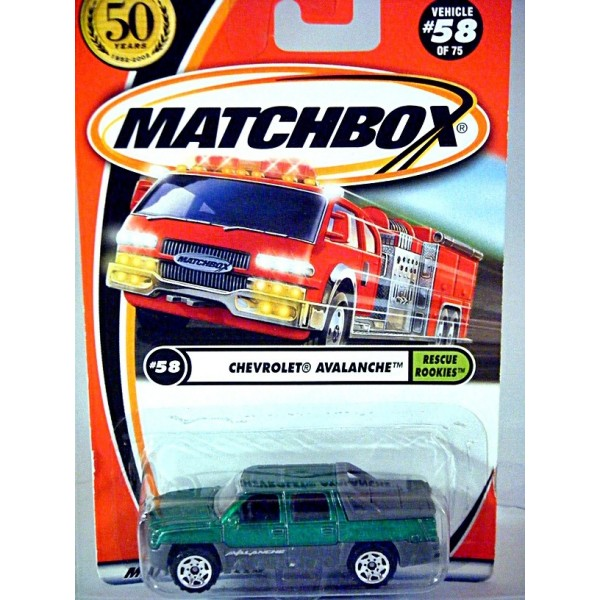 Matchbox Chevy Avalanche Pickup Truck