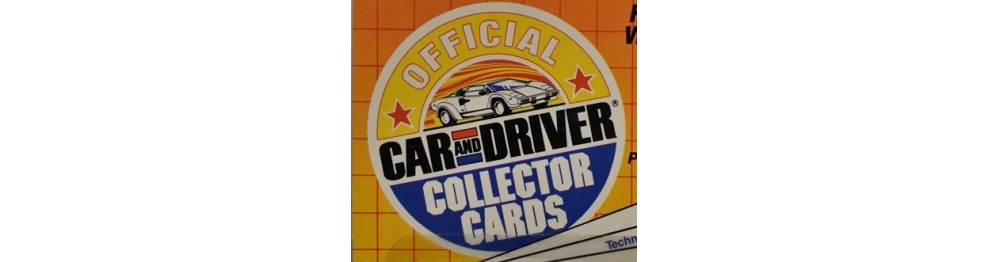 Car & Driver Collector Card Series