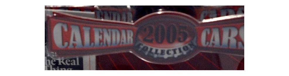 Coca Cola Calendar Series 2005