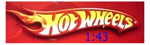 1:43 Scale Hot Wheels (O Scale)